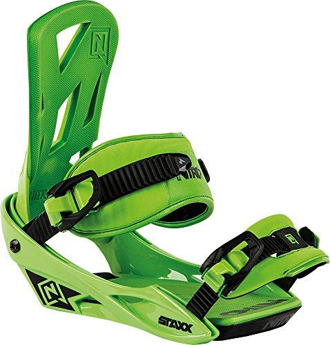 Nitro Snowboards Herren Bindung Staxx BDG 16, Green, L, 1161836327