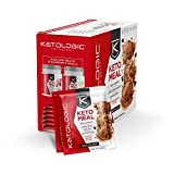 KetoLogic Keto Meal Replacement MCT Shake – Promotes Weight Loss/Suppresses Appetite/Low Carb – Chocolate, 10 Servings