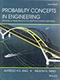 Probability Concepts in Engineering: Emphasis on Applications to Civil and Environmental Engineering, 2nd ed.