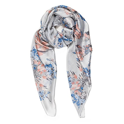 htweight Silk Feel Spring Winter Oblong Fashion Scarves Shawl by Melifluos (FP11-6) ()
