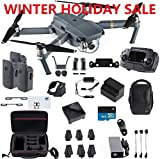 DJI Mavic Pro Fly More Combo Travel Bundle, 3 Batteries, Professional Case and More