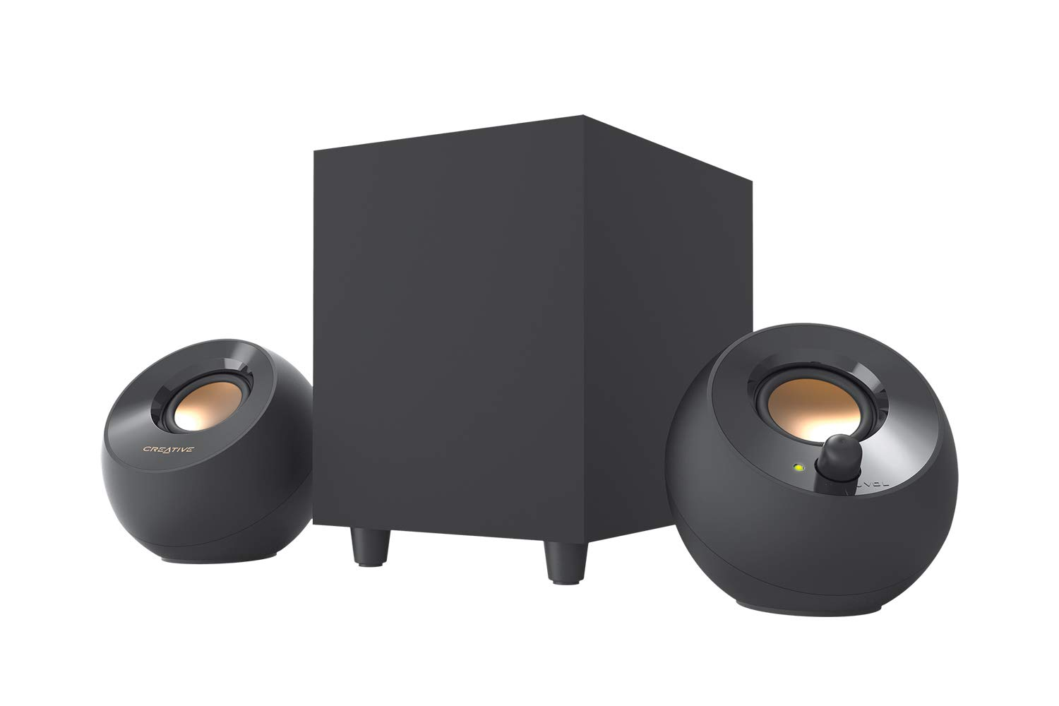 Parlantes PC Creative Pebble 2.1 + Subwoofer USB Powered