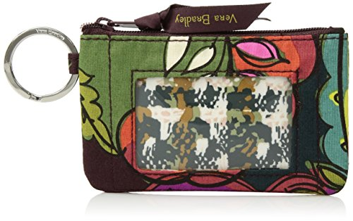 Vera Bradley womens Zip Id Case, Autumn Leaves, One (Autumn Leaves Well)