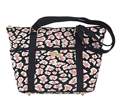 Amira Quilted Cotton Shopper Tote Handbag