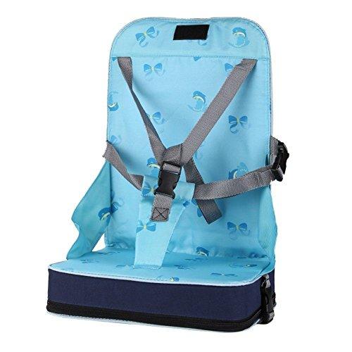 Boostersitz StillCool Sitzerhöhung für Reisen Stuhlsitz Kinderhochstuhl Kindersitz (Blau)