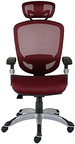 Staples 2257054 Hyken Technical Mesh Task Chair Red
