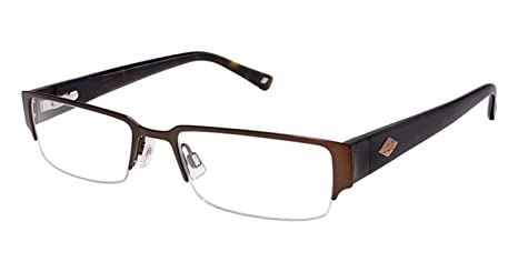 19f20fa6b3 Eyeglasses JOE Joseph Abboud JOE4003 JOE 4003 Bourbon  Amazon.ca  Clothing    Accessories