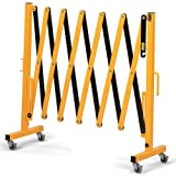 Vestil Expand-A-Gate Security Gate - 12' Extended Width - With Casters