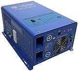 AIMS Power 1000 Watt 12 VDC Pure Sine Inverter Charg  ETL Certified to UL 458