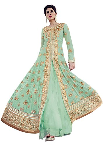 Jay Sarees Bollywood Nargis Fakri Heavy Work Wedding Salwar Suit 7318 (Jay Sarees Wedding)