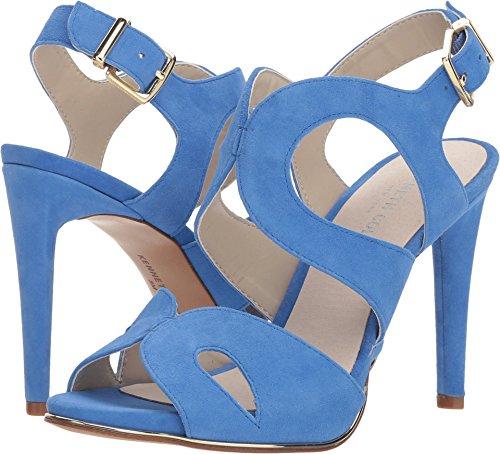 Kenneth Sandals Cole Suede (Kenneth Cole New York Women's Baldwin Stiletto Heel Dress Heeled Sandal, Cerulean, 6.5 M US)