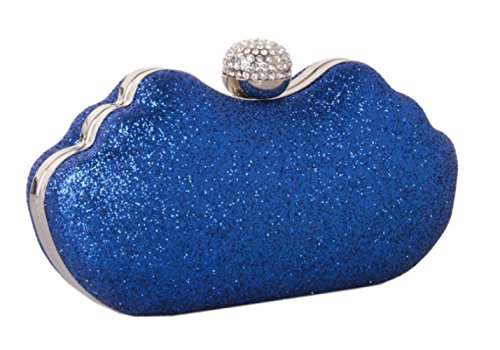 Navyblue XZWNB Purse School Glitter Wedding Pochette Party Prom Evening Da Donna UaPvU
