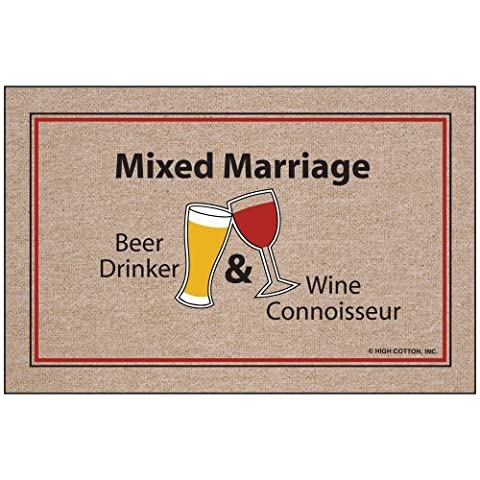 Mixed Marriage Doormat (Humor Doormat)