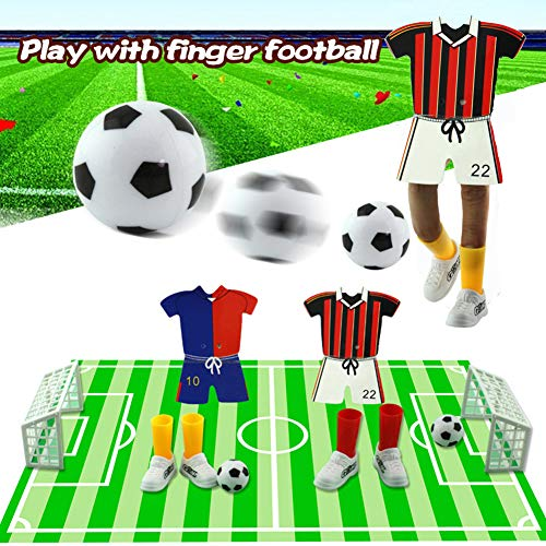 - Leagway Finger Football Game Toy Sets with Two Goals, Funny Family Party Finger Soccer Match Mini Soccer Game for Children Adults