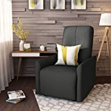 Lilith Traditional Dark Grey Fabric Recliner Review