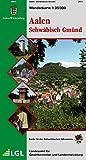 Karte des Schwäbischen Albvereins, Bd. 14: Aalen - Schwäbisch Gmünd