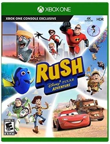 Microsoft Rush: A Disney Pixar Adventure Básico Xbox One vídeo ...