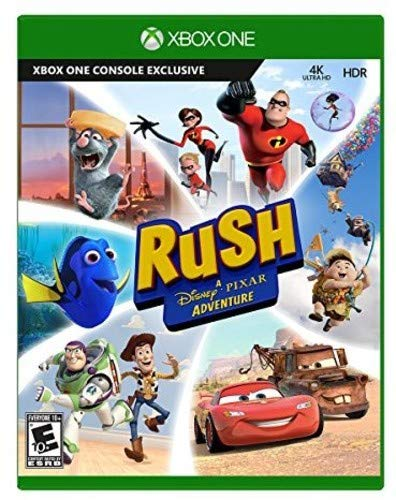 Rush: A Disney Pixar Adventure - Xbox One (Best Rated Xbox Games)