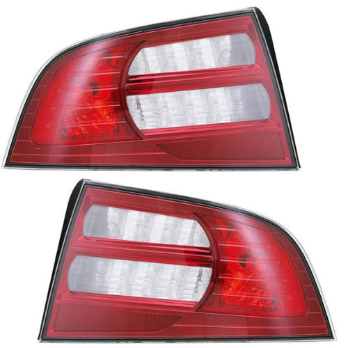 2007-2008 Acura TL 3.2L Base Model (excluding Type S) Taillight Taillamp Rear (Excluding Base Model)