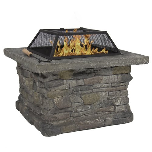 """Best Choice Products Elegant 29"""" Outdoor Patio Firepit w/..."""