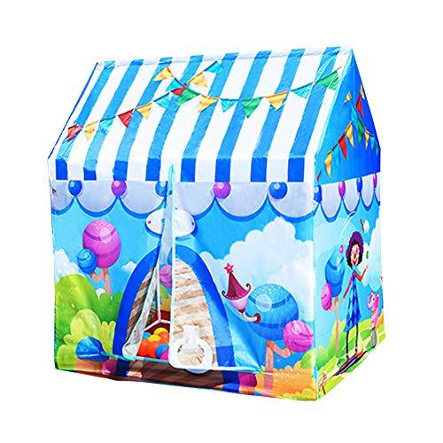 PRNGZGG Tienda Casa Casita Carpa Campaña para Niñas De Tela Lona Popup Plegable para Jugar Juguete Infantil Casa De Juguete...