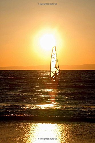 Read Online Windsurfing at Sunset Adventure Journal: 150 Page Lined Notebook/Diary pdf epub