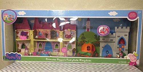 (Peppa Pig Playset Princess peppa's fairytale kingdom Limited Edition)