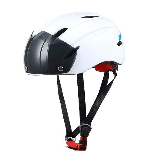 SIER Gafas de Tipo magnético Casco Moldeado Integral Bicicleta ...