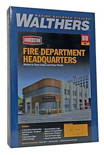 【レビューで送料無料】 Walthers Cornerstone Cornerstone Fire Fire Dept Headquarters Headquarters B00BJ8QO02, マグネット ステッカー はんこSHOP:49c47dcb --- a0267596.xsph.ru