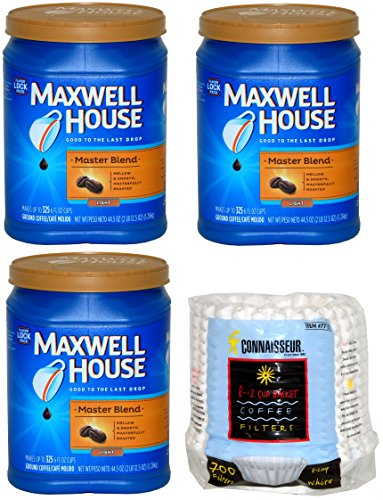 maxwell-house-master-blend-custom-roasted-full-flavor-coffee-445-ounces-3-pack-bundle-with-connaisse