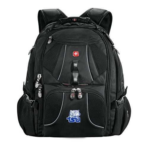 Tennessee State Wenger Swiss Army Mega Black Compu Backpack 'Official Logo' by CollegeFanGear