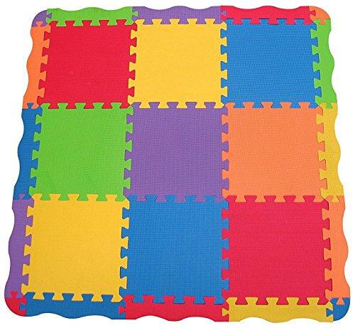 (Edushape Solid Play Mat, 25 Count)