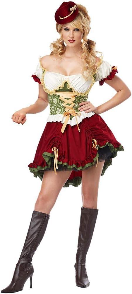 Traje de tirolesa para mujer, 3 piezas, vestido de pppanguding ...
