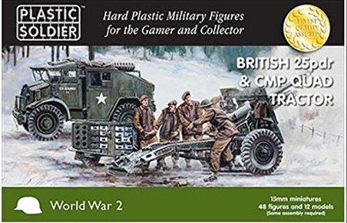 Quad Tractor (WWII Miniatures - British 1:72 25PDR & CMP Quad Tractor)