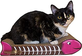 product image for Imperial Cat Fish Bone Scratch 'n Shape, Pink and Brown