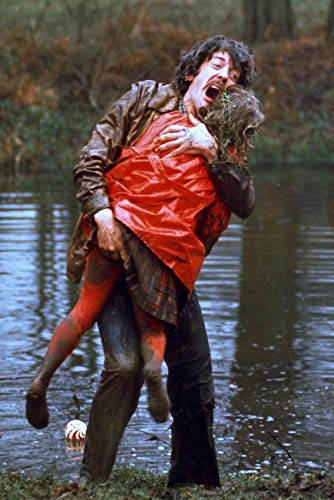 Don't Look Now Donald Sutherland 24x18 Poster Carrying Daughter in red j