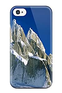 For ZippyDoritEduard Iphone Protective Case, High Quality For Iphone 4/4s Cerro Torre Los Glaciares National Park Argentina Nature Other Skin Case Cover