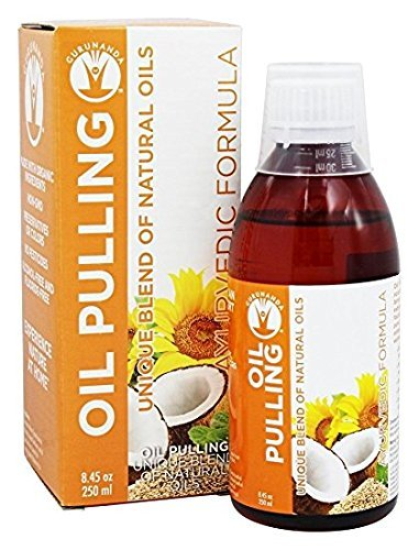 Pulling Animal (GuruNanda Oil Pulling Oil Oral Detox Oil Refreshing Ayurvedic Blend of Coconut, Sesame, Sunflower, & Peppermint Oils (8.45 fl. oz))