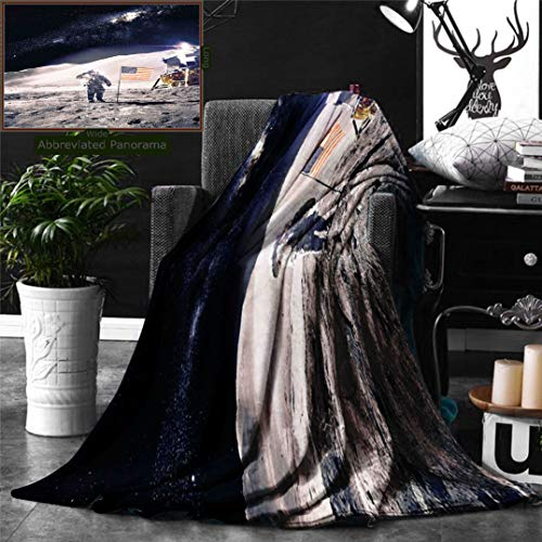 Ralahome Unique Custom Double Sides Print Flannel Blankets S