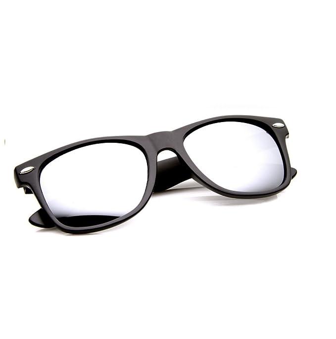 Gafas de sol efecto espejo 4sold, unisex, con protección ...