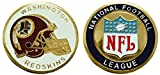 Collectible Challenge Coin- Logo Poker- Lucky Chip for Redskins