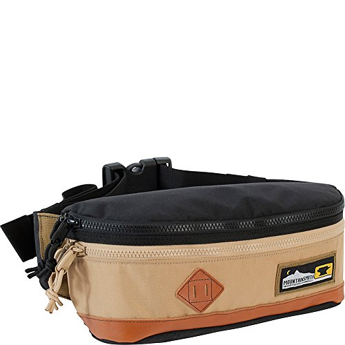 Mountainsmith Trippin Fanny Pack, Black & Tan, One Size