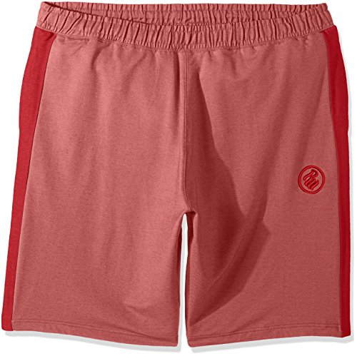 Rocawear Men's Big and Tall Shadow Twill Short, Red, 4XB