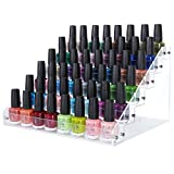 Lifewit 6-Level Clear Premium Quality Acrylic Nail Polish Organizer Storage Holder