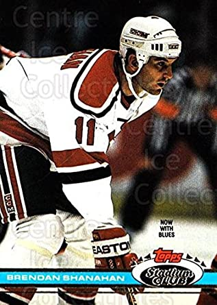 47faf651986 Amazon.com: (CI) Brendan Shanahan Hockey Card 1991-92 Stadium Club ...