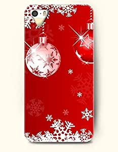 OOFIT Phone Case design with Golden Christmas Lights for Apple iPhone 4 4s 4g