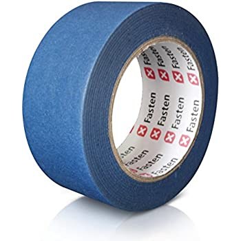 """XFasten Professional Blue Painters Tape, 2"""" by 60 Yards (Single Roll)"""