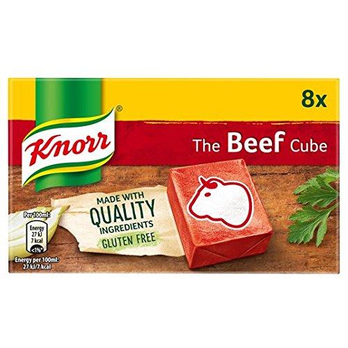 Knorr cubos de caldo de carne de 8 x 10g