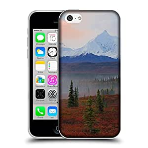 Super Galaxy Coque de Protection TPU Silicone Case pour // V00000344 Mañana gama de Alaska Niebla // Apple iPhone 5C
