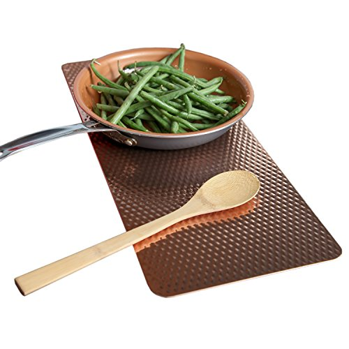 Old Home Kitchen Non Slip Insulated Counter Mat - Copper -